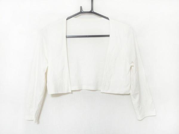 Tiaclasse(ティアクラッセ) ボレロ サイズL レディース美品  白 ショート丈