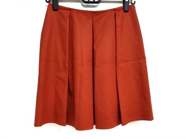 TOMORROWLAND(トゥモローランド) スカート サイズ38 M レディース ブラウン