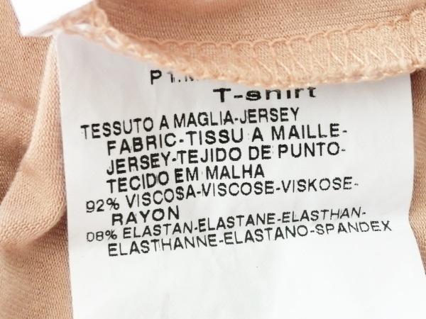 Max Mara(マックスマーラ) 半袖Tシャツ サイズM レディース ベージュ ビーズ