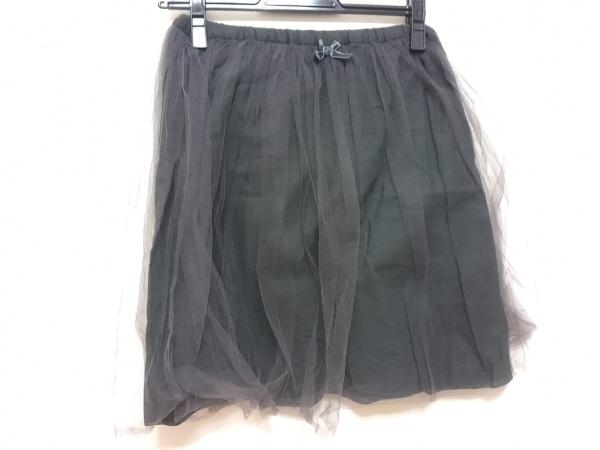 Bilitis(ビリティス) スカート レディース ダークグレー リボン/チュール