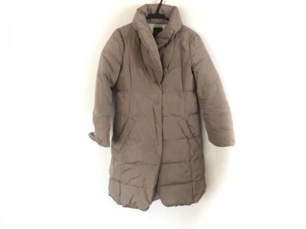 フィロディセタ ダウンコート サイズ40 M レディース美品  - - グレー 長袖/冬