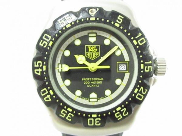 TAG Heuer(タグホイヤー) 腕時計 フォーミュラ1 376.508 レディース 黒×シルバー