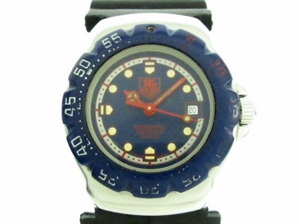 タグホイヤー 腕時計 フォーミュラ1 WA1410 レディース ネイビー×ライトグレー