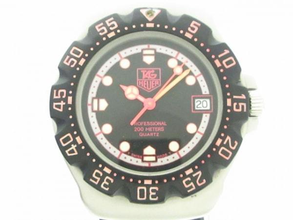 TAG Heuer(タグホイヤー) 腕時計 フォーミュラ1 377.513 ボーイズ 黒×シルバー