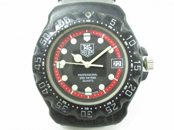 TAG Heuer(タグホイヤー) 腕時計 フォーミュラ1 383.513/1 ボーイズ 黒×レッド