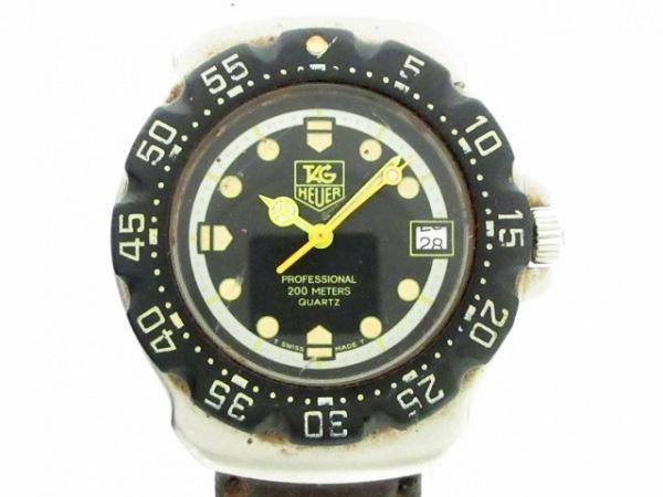 TAG Heuer(タグホイヤー) 腕時計 フォーミュラ1 WA1216 ボーイズ 黒×シルバー