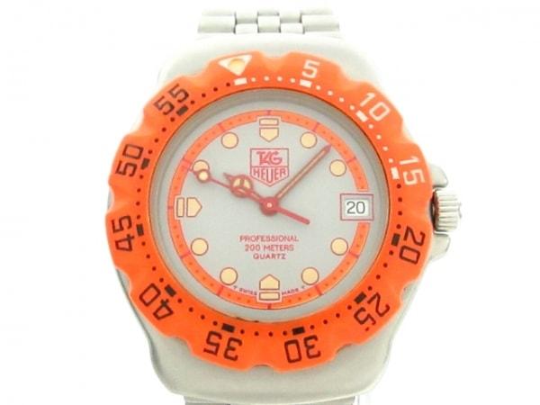 TAG Heuer(タグホイヤー) 腕時計 フォーミュラ1 WA1213 ボーイズ グレー×オレンジ