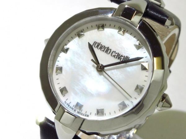 RobertoCavalli(ロベルトカヴァリ) 腕時計 RV1L032L0011 レディース シェルホワイト