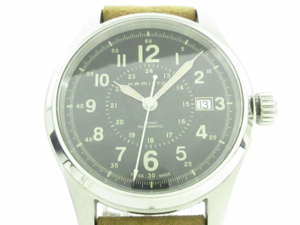 HAMILTON(ハミルトン) 腕時計 カーキ H705950 メンズ 黒