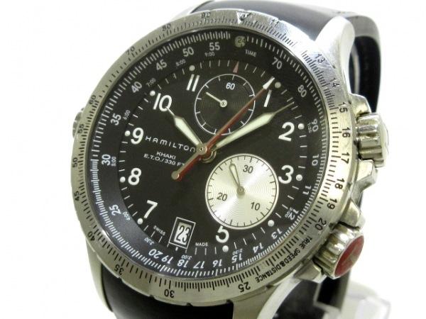 HAMILTON(ハミルトン) 腕時計 カーキETO H776120 メンズ 黒