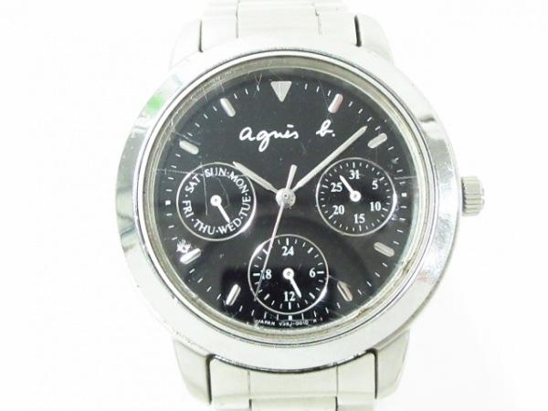 agnes b(アニエスベー) 腕時計 V33J-0010 レディース 黒