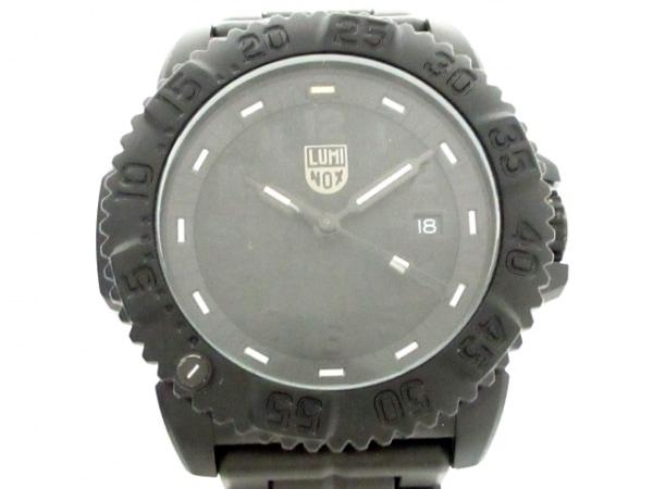 ルミノックス 腕時計美品  ネイビーシールズ カラーマーク 3050/3950 /3052.BO メンズ