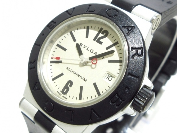 sale retailer b133e 23d3d BVLGARI(ブルガリ) 腕時計 アルミニウム AL29TA レディース アイボリー