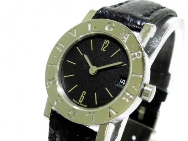 BVLGARI(ブルガリ) 腕時計 ブルガリブルガリ BB23SLD レディース 黒