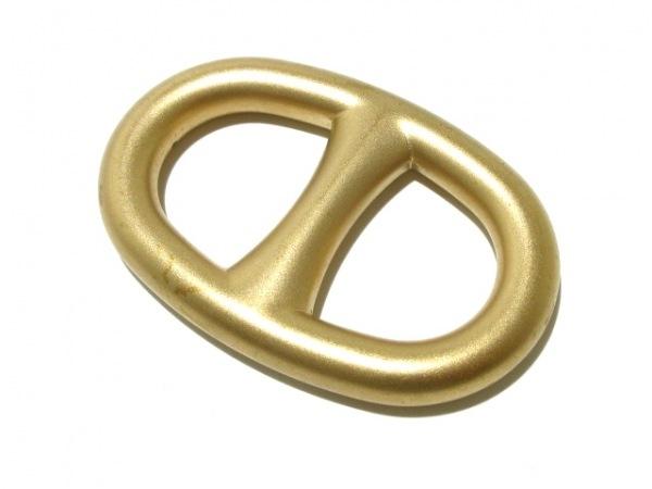 HERMES(エルメス) スカーフリング シェーヌダンクル 金属素材 ゴールド