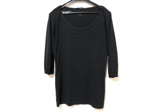 HUGOBOSS(ヒューゴボス) 七分袖Tシャツ レディース 黒