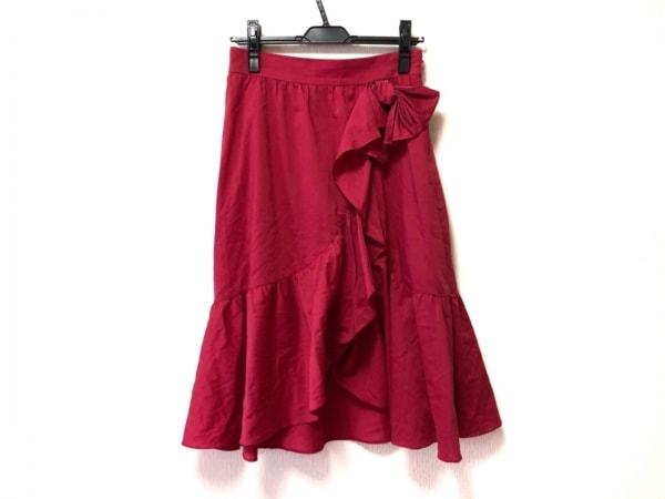 M'S GRACY(エムズグレイシー) スカート サイズ38 M レディース ピンク リボン