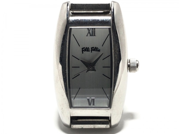 FolliFollie(フォリフォリ) 腕時計美品  S699L/SB レディース 白