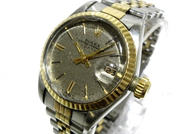ROLEX(ロレックス) 腕時計 オイスターパーペチュアルデイト 6917 レディース シルバー