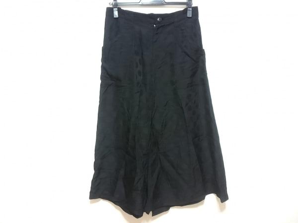 Y's(ワイズ) パンツ レディース 黒 スカート風/サルエル/ドット柄