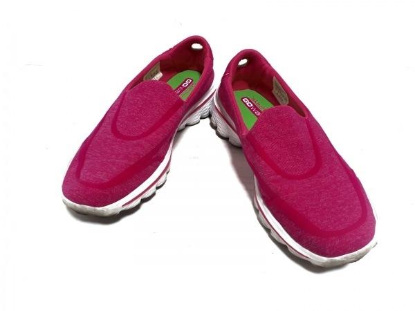 SKECHERS(スケッチャーズ) シューズ 23 レディース美品  ピンク コットン