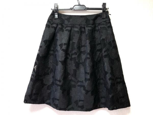 Austin Reed(オースチンリード) スカート サイズ38 L レディース美品  黒 刺繍