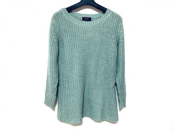 ジャスグリッティー 長袖セーター サイズ2 M レディース美品  ライトグリーン
