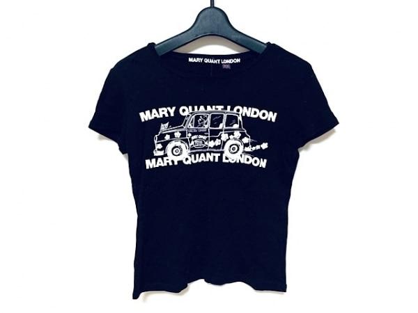 MARY QUANT(マリークワント) 半袖Tシャツ サイズM レディース 黒×白