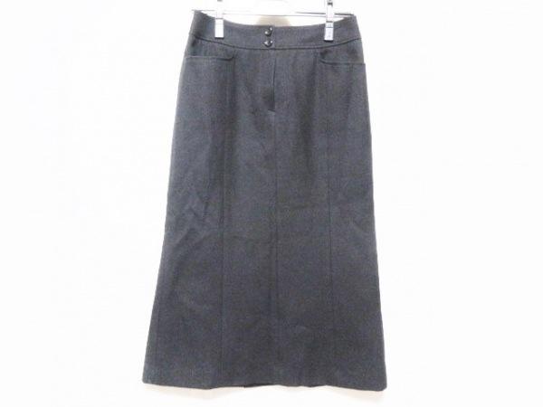 Burberry LONDON(バーバリーロンドン) ロングスカート サイズ38 L レディース 黒