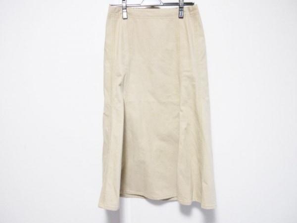 バーバリーロンドン ロングスカート サイズ36 M レディース ブラウン
