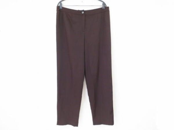 Leilian(レリアン) パンツ サイズ13+ S レディース ダークブラウン