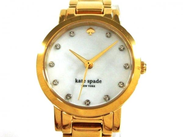 Kate spade(ケイト) 腕時計美品  - レディース シェル文字盤