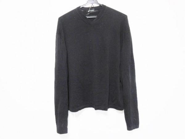 JILSANDER(ジルサンダー) 長袖セーター サイズ48 M メンズ 黒