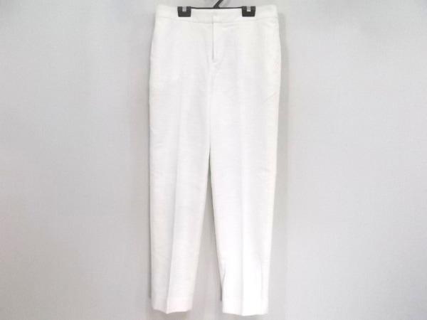 TOMORROWLAND(トゥモローランド) パンツ サイズ38 M レディース アイボリー