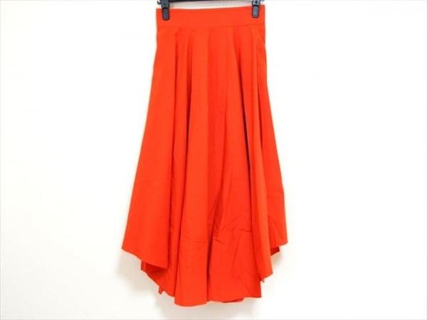ダブルスタンダードクロージング ロングスカート サイズ38 M レディース美品  レッド