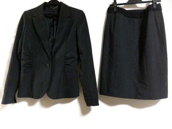 MOGA(モガ) スカートスーツ サイズ3 L レディース 黒