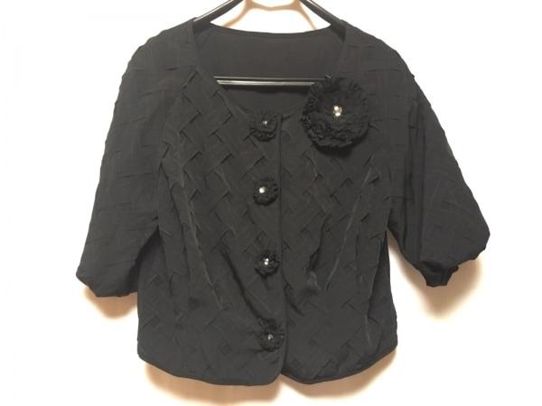 NOKO OHNO(ノコオーノ) ジャケット レディース美品  黒 ノーカラー/七分袖/タグ付き