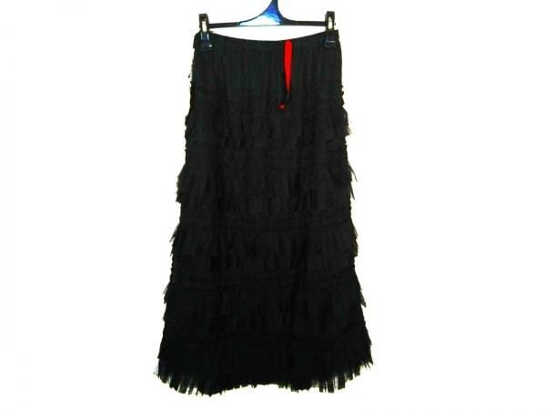 NOKO OHNO(ノコオーノ) ロングスカート サイズ38 M レディース新品同様  黒
