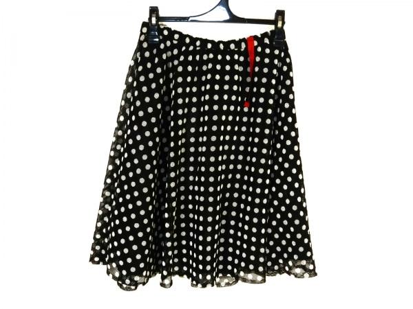 NOKO OHNO(ノコオーノ) スカート サイズ40 M レディース新品同様  黒×白