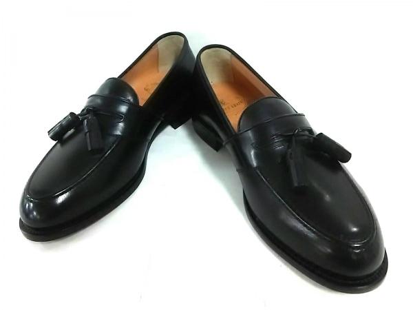 SCOTCH GRAIN(スコッチグレイン) 靴 25EEE メンズ 黒 HIROKAWA レザー