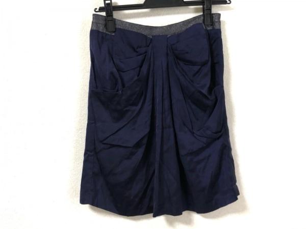 アプワイザーリッシェ スカート サイズ2 M レディース美品  リボン/ラメ