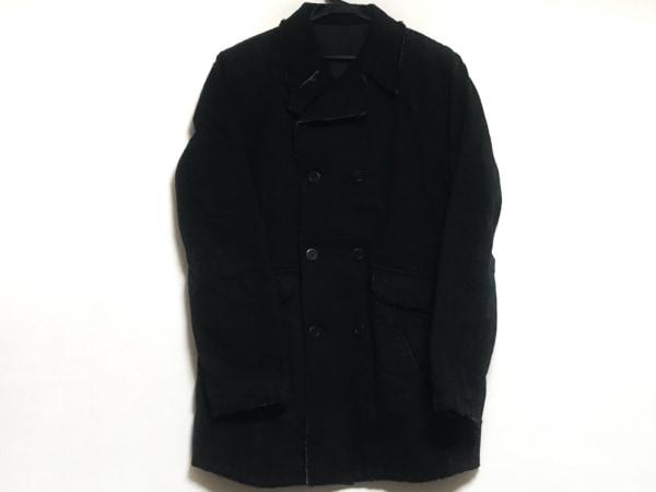 ABAHOUSE(アバハウス) コート サイズ3 L メンズ 黒 冬物/切りっぱなし加工
