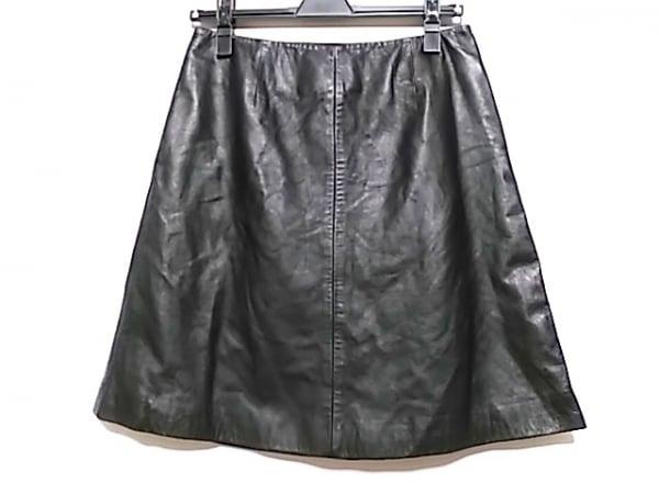 Bilitis(ビリティス) スカート サイズ36 S レディース 黒 レザー