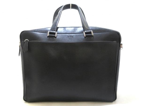 FENDI(フェンディ) ビジネスバッグ - 7VA351 黒 レザー