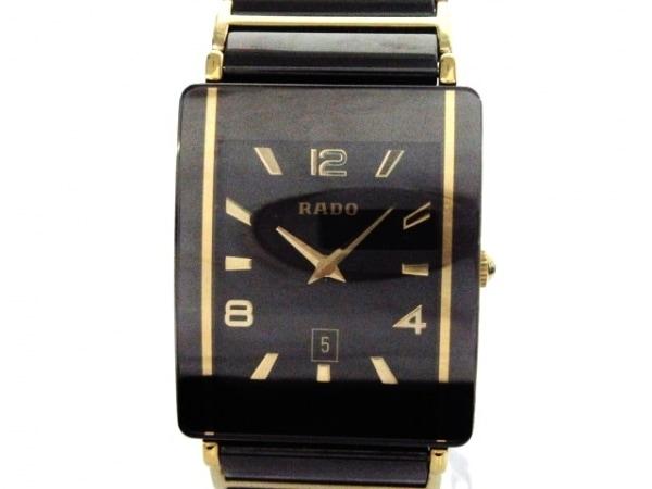 RADO(ラドー) 腕時計美品  160.0282.3 レディース 黒