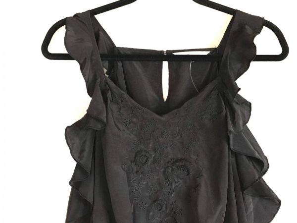 snidel(スナイデル) オールインワン サイズF レディース 黒 刺繍