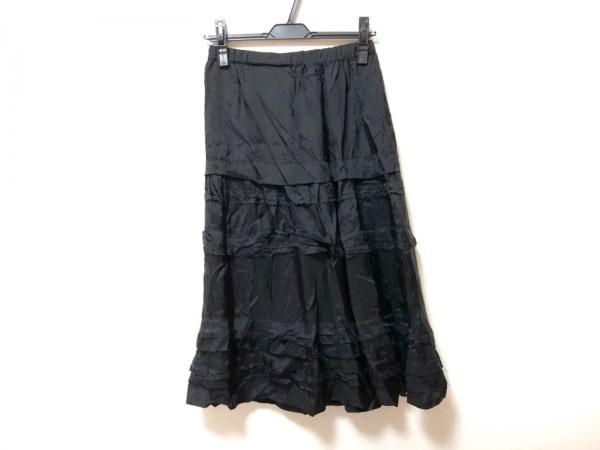tricot COMMEdesGARCONS(トリココムデギャルソン) ロングスカート レディース 黒