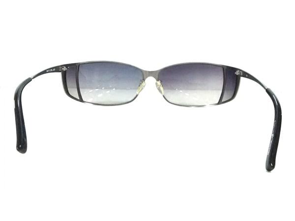 POLICE(ポリス) サングラス S8117 黒×シルバー プラスチック×金属素材