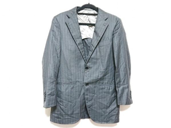 BRILLA(ブリラ) ジャケット サイズ44 L メンズ美品  ダークグレー×グレー
