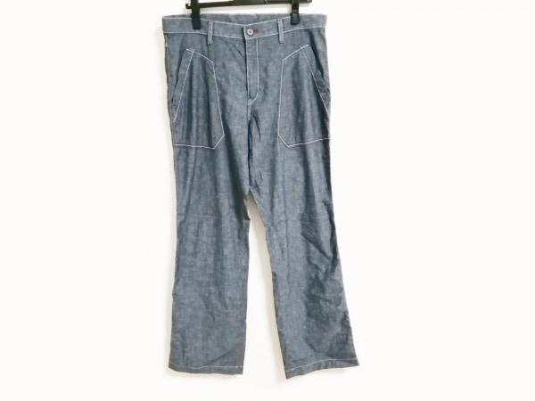 カステルバジャック パンツ サイズ86 メンズ ダークグレー×ボルドー×ネイビー
